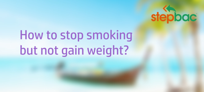 How to stop smoking cold turkey without gaining weight