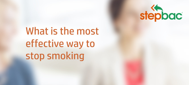 What is the most effective way to quit smoking?