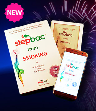 "Buy Quit Smoking book ""Stepbac® from Smoking"" on Amazon"