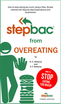 "Cover ""Stepbac® from Overeating"""