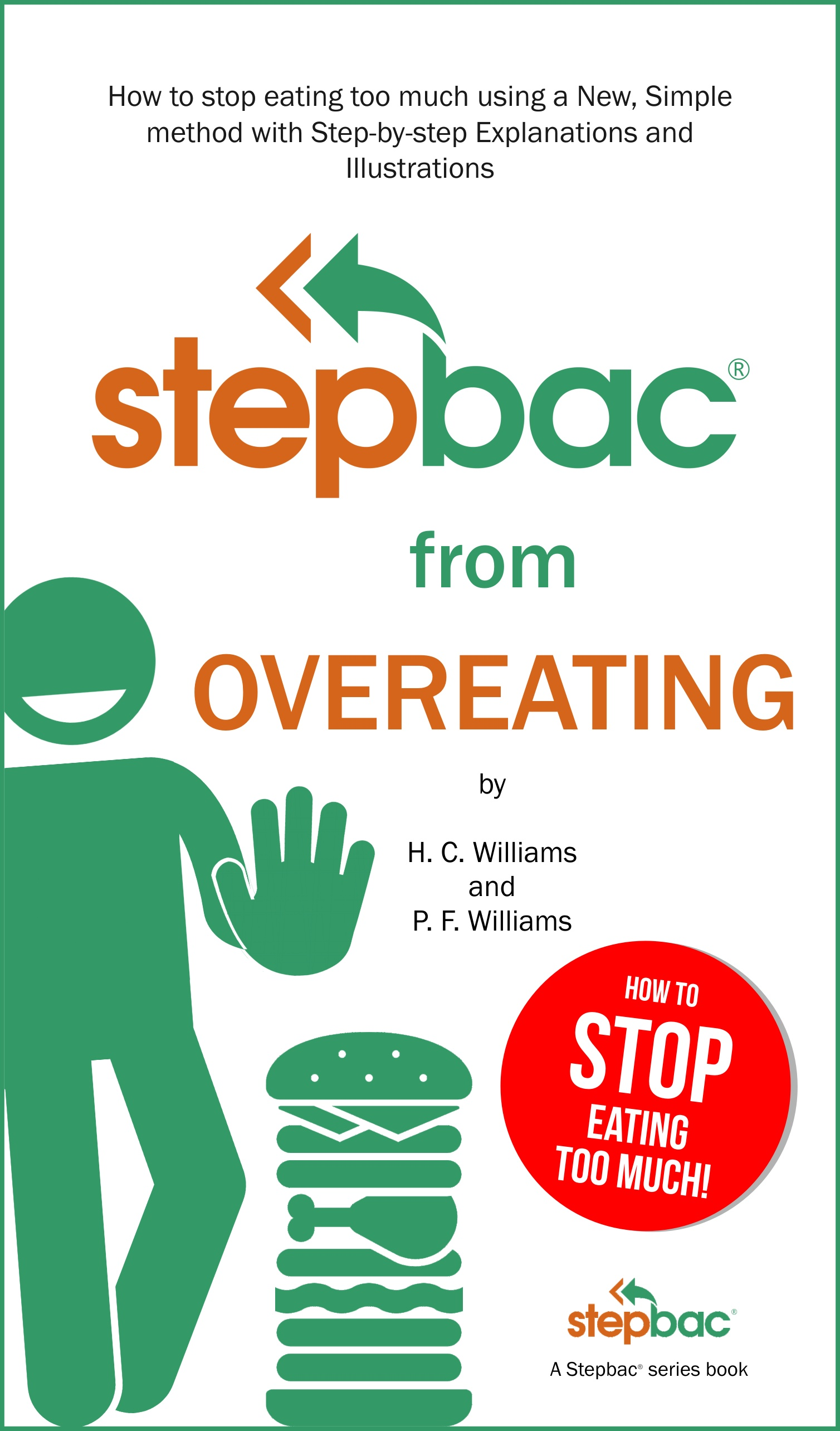 Stepbac from Overeating ebook cover