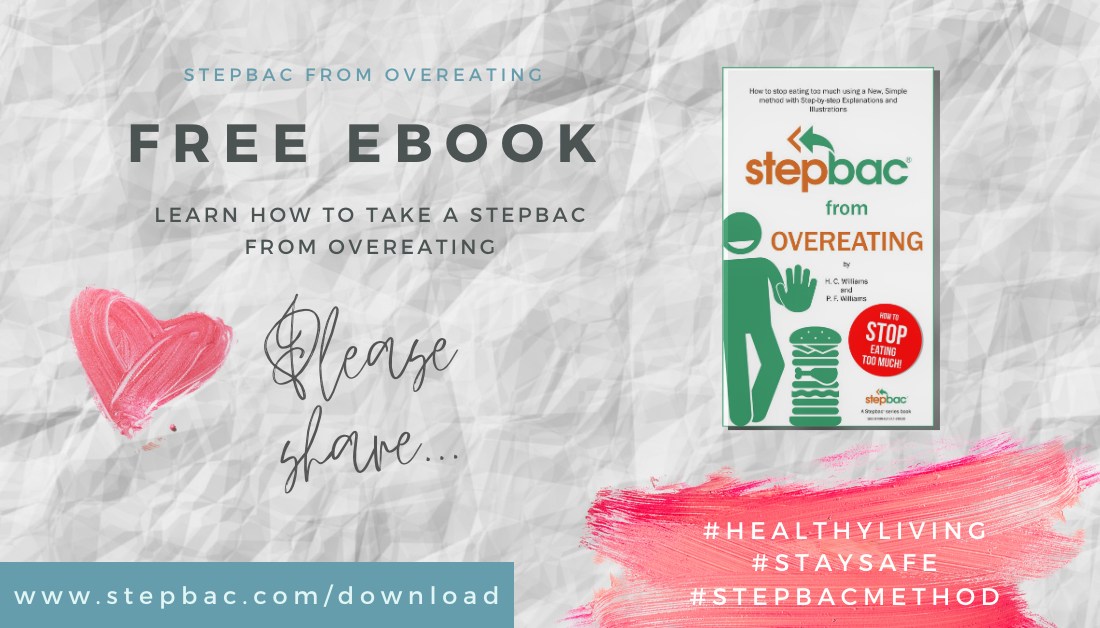 Free ebook - Stepbac from Overeating